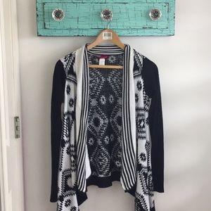 Jackets & Blazers - Black&White Cardigan